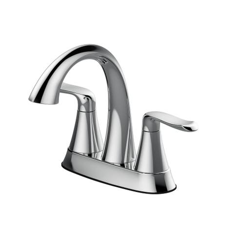Jacuzzi PV40 Piccolo 1.2 GPM Centerset Bathroom Faucet with Pop-Up