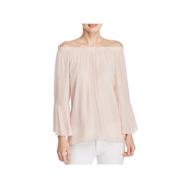 1f628f7989a4a Shop Ramy Brook Womens Charity Blouse Shirred Off-The-Shoulder ...