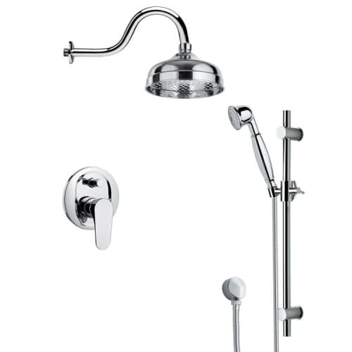 Nameeks Sfr7526 Remer Shower System With Multi Function Rain Head Hand Slide