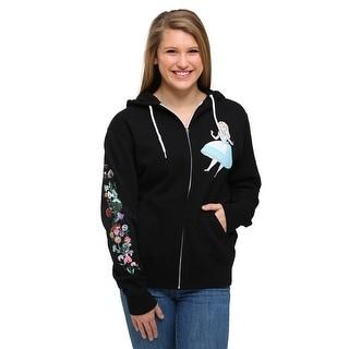 Alice In Wonderland Flower Hooded Sweatshirt