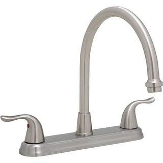 ProFlo PFXC6880LS 1.8 GPM Double Handle Kitchen Faucet