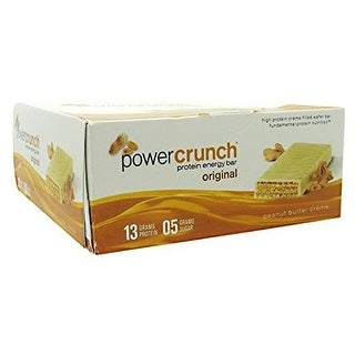 Bionutritional Research Group Power Crunch Peanut Butter Creme (Box of 12)