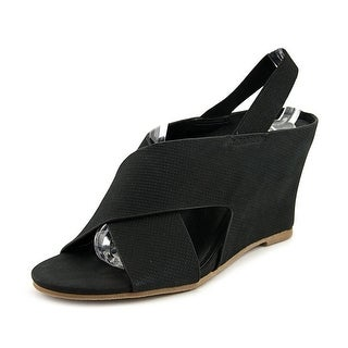 Matisse Harlow Open Toe Leather Wedge Sandal
