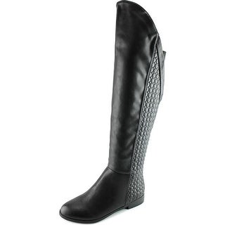 Chinese Laundry Racer Round Toe Synthetic Over the Knee Boot