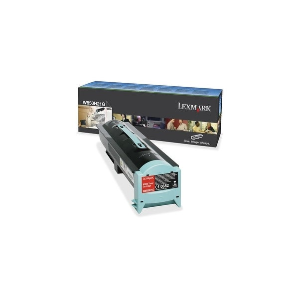 Lexmark W850H21G Lexmark Toner Cartridge - Black - Laser - 35000 Page - 1 Each