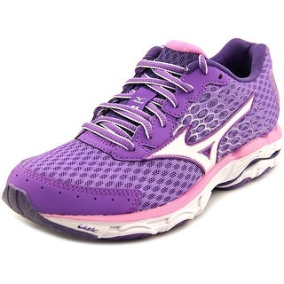 Mizuno Wave Inspire 11 Women  Round Toe Synthetic Purple Running Shoe