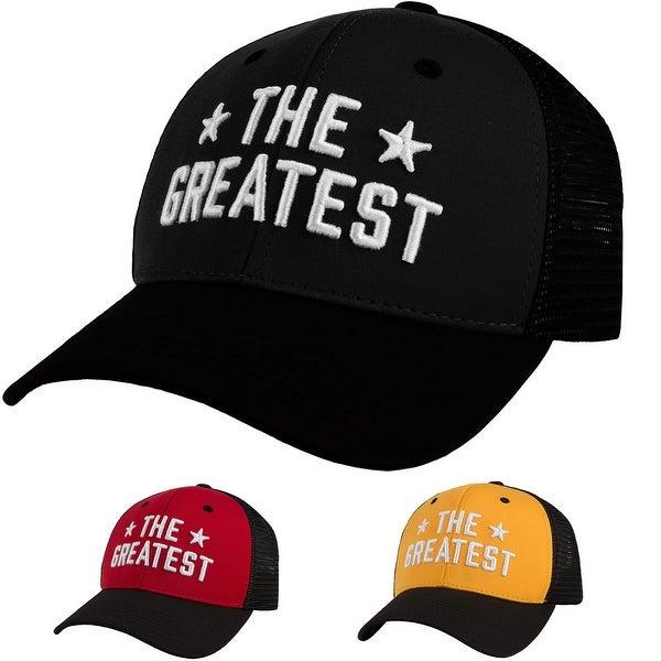 Title Boxing Muhammad Ali The Greatest Adjustable Mesh Back Cap