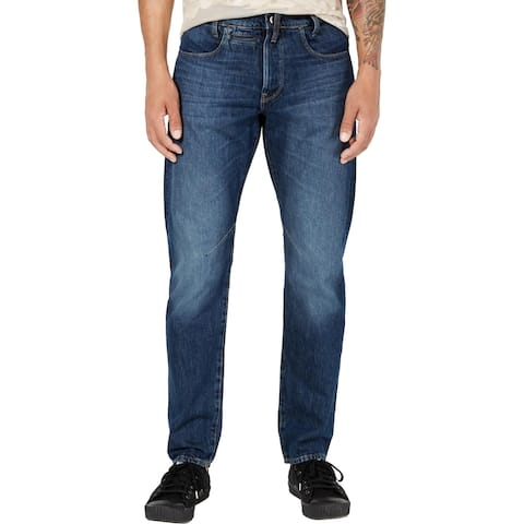 G-Star Raw Mens Slim Jeans Denim Low Rise - Medium Age