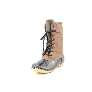 Sporto Daphne   Round Toe Leather  Snow Boot