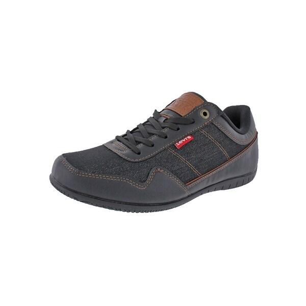 91a0c2cc8b0f Levi  x27 s Mens Rio Denim Fashion Sneakers Comfort Insole Denim - 10 medium