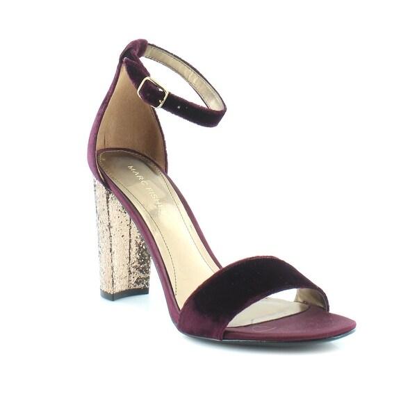 Marc Fisher Factor Women's Heels Dark Red
