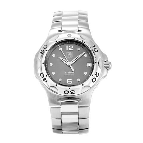 Tag Heuer Men's WL111G.BA0701 'Kirium' Stainless Steel Watch - Grey