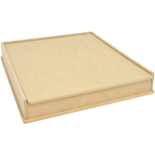 """Beyond The Page MDF Project Storage Box-13.75""""X13.25""""X2.25"""""""
