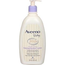 AVEENO Baby Calming Comfort Lotion, Lavender and Vanilla, 18 oz