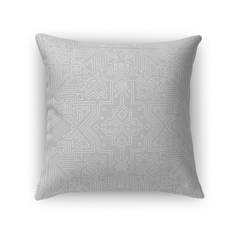 SULTANATE LIGHT GREY Accent Pillow By Kavka Designs