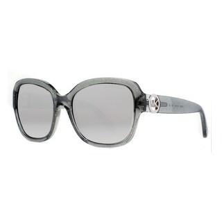 MICHAEL KORS Butterfly MK 6027 Women's 3098 6G Clear Gray Gray Sunglasses - 55mm-18mm-135mm
