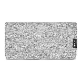 Pacsafe RFIDsafe LX200 - Tweed Grey RFID Blocking Clutch Wallet