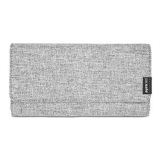 Pacsafe RFIDsafe LX200 - Tweed Grey RFID Blocking Clutch Wallet