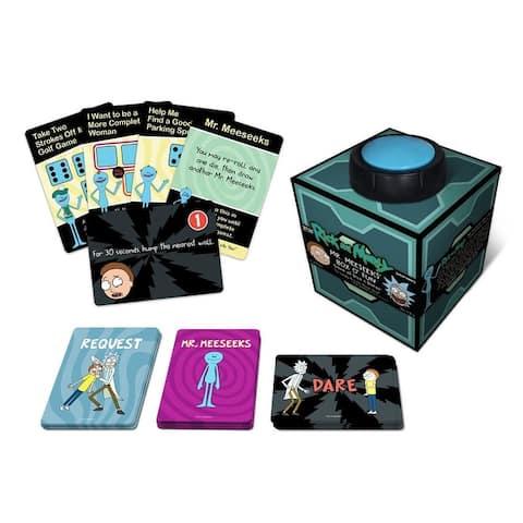 Rick and Morty Mr. Meeseeks' Box O'Fun Game of Dice & Dares - Multi