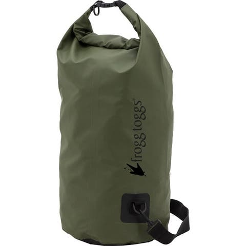 Frogg toggs ldb10009 frogg toggs dry bag tarpaulin w/cooler insert 50 liter green