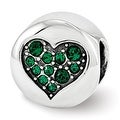 Sterling Silver Reflections Swarovski Elements May-Success Bead (4mm Diameter Hole) - Thumbnail 0