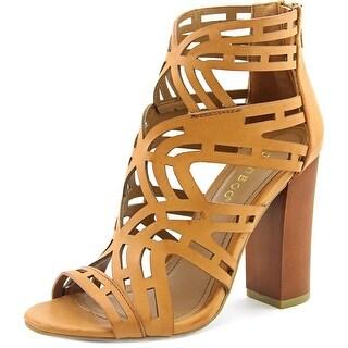 Bamboo Embark Women Open Toe Synthetic Tan Sandals