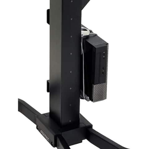 Ergotron 97-666 Ergotron WorkFit CPU Mount for CPU - 40 lb Load Capacity - Steel