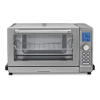 Cuisinart Toaster Oven Broiler w/ 9 Cooking Functions & Even Toast Shade Control|https://ak1.ostkcdn.com/images/products/is/images/direct/0e7dd173d7fa52afcfce99457fd930cfacc7c189/Cuisinart-Deluxe-Convection-Toaster-Oven-Broiler-Cuisinart-Deluxe-Convection-Toaster-Oven-Broiler.jpg?impolicy=medium