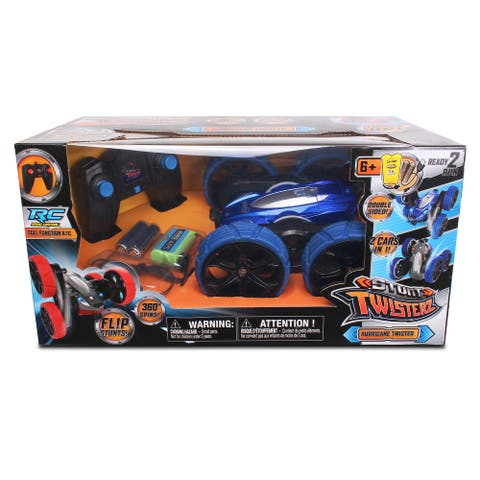 NKOK Stunt Twisterz RTR Hurricane Twister RC (Colors May Vary)