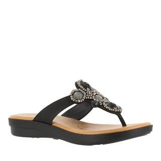 Easy Street Women's Begem Flat Sandal|https://ak1.ostkcdn.com/images/products/is/images/direct/0e7eec7addfdf4ebcca54c3e9f136153eb246cd7/Easy-Street-Women%27s-Begem-Flat-Sandal.jpg?impolicy=medium