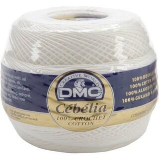 Cebelia Crochet Cotton Size 20-White - White