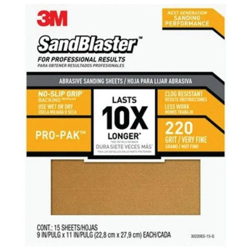 """5-Pack 3M 9084 Wet//Dry Sandpaper Ultra Fine 600 Grit 9/"""" x 11/"""""""