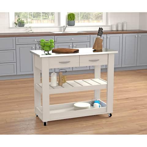 Inval Mobile Kitchen Cart