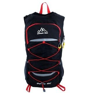 Camping Hiking Climbing Backpack Cycling Daypack Outdoor Sports Bag Black