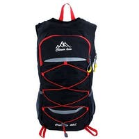 Unique Bargains Camping Hiking Climbing Backpack Cycling Daypack Outdoor Sports Bag Black