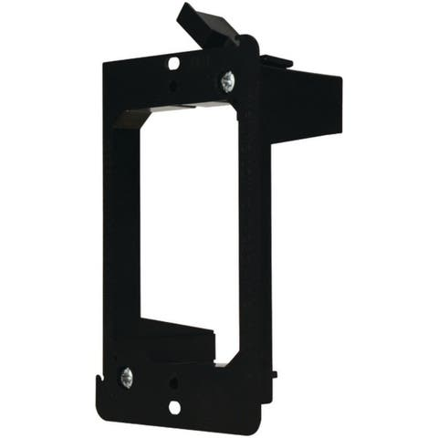 DataComm Electronics 60-0021-S Single-Gang Low-Voltage Mounting Bracket