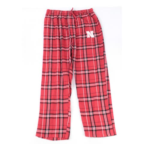 Concepts Mens Sleepwear Red Size Large L Plaid Print Lounge Pants