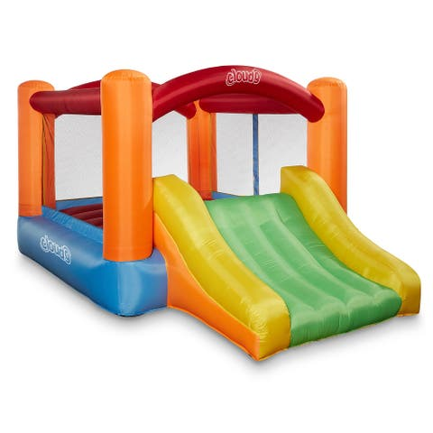 Bounce House With Slide, Blower and Bag by Cloud 9