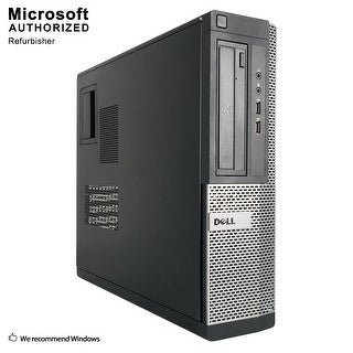 Dell OptiPlex 390 DT Intel Core i3 2100 3.10GHz, 8GB RAM, 1TB HDD, DVD, WIFI, BT 4.0, VGA, HDMI WIN10P64(EN/ES)