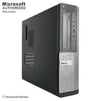 Dell Optiplex 390 DT Intel i3-2100 3.10GHz, 8GB RAM, 240GB SSD, DVD, WIFI, BT 4.0, VGA, HDMI WIN10P64(EN/ES)-Refurbished