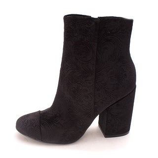 Marc Fisher Womens Prana2 Fabric Closed Toe Ankle Fashion Boots