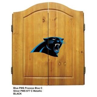 Dart Cabinet - NFL- Carolina Panthers