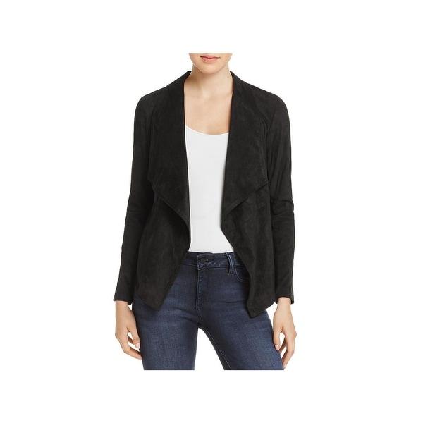 3cec37b2754 Shop BB Dakota Womens Basic Jacket Faux Suede Open Front - Free ...