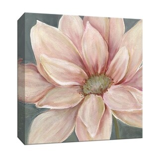 """PTM Images 9-146715  PTM Canvas Collection 12"""" x 12"""" - """"Winter Blush II"""" Giclee Flowers Art Print on Canvas"""