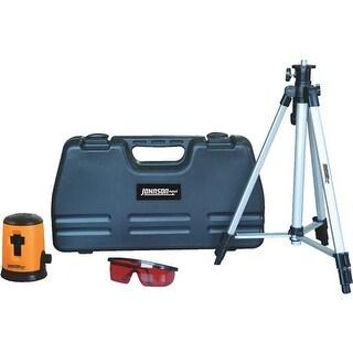 Johnson Level Cross-Line Laser-Level 40-6646 Unit: EACH