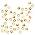 14K Gold Filled Crimp Beads 2 x 1mm (50) - Thumbnail 0