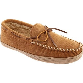 Portland Boot Company Men's Max Moccasin Slipper Cinnamon Suede