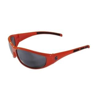 NCAA Syracuse Orangemen Wrap 3 Dot Sunglasses