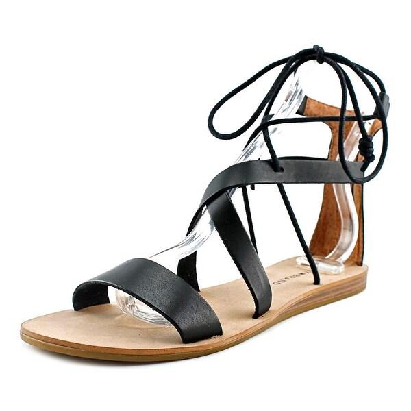 Lucky Brand Fidela Women Open Toe Synthetic Gladiator Sandal