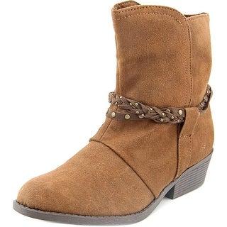 Sugar Sgk Peanut Round Toe Canvas Ankle Boot